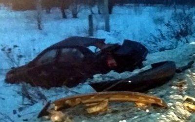 Три молодых человека погибли в ДТП на трассе М-4
