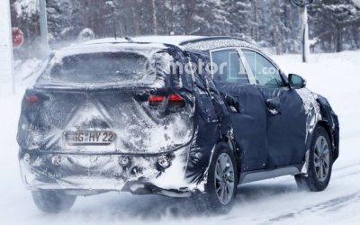 Готовится новая версия Hyundai Tucson, о чем стало известно от фотошпионов