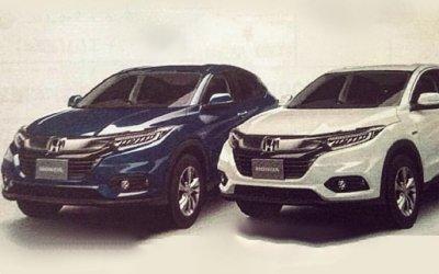 Отсканированные с брошюры фото новой Honda HR-V вызвали ажиотаж в Сети
