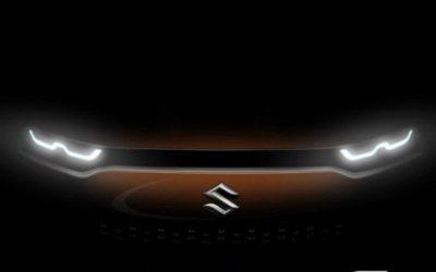 Показаны официальные тизеры нового кроссовера Suzuki Future-S Concept