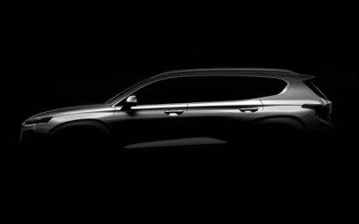 Обнародован официальный тизер новой Hyundai Santa Fe