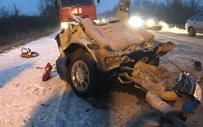 В ДТП с автобусом в Крыму погибли три человека