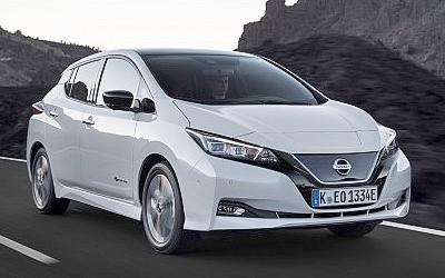 Nissan хочет начать продавать в России свои электромобили