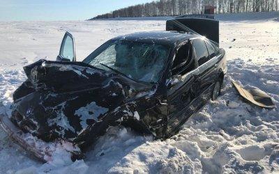 Два человека погибли в ДТП с BMW в Башкирии