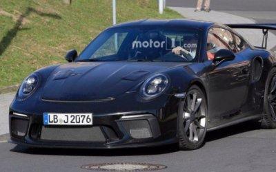 Обновленный Porsche 911 GT3 RS попал на фото