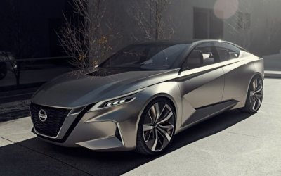 Nissan показали новый концепт Vmotion 2.0 в Детройте