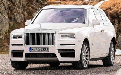 Люксовый кроссовер от Rolls-Royce будет продаваться в России