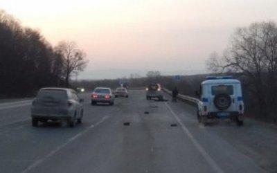 Иномарка насмерть сбила женщину в Приморье
