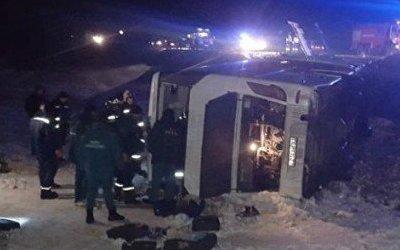 Число жертв в ДТП с автобусом под Ростовом увеличилось до 5