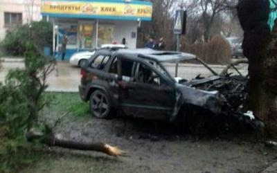 Водитель иномарки погиб в ДТП в Крыму