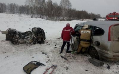 Шесть человек погибли в ДТП под Новосибирском