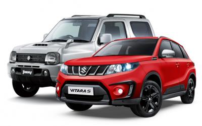 В Suzuki обещают выпустить несколько юбилейных версий Vitara и Jimny
