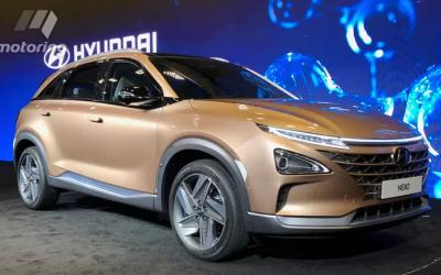 Hyundai NEXO - водородный кроссовер, который догонит традиционные автомобили