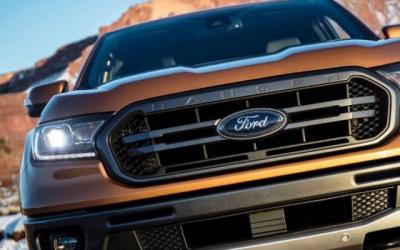 Ford выложил фотографии обновлённого пикапа Ford Ranger