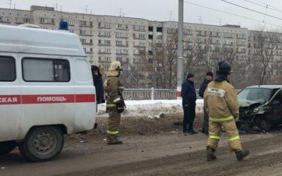 Ребенок и трое взрослых пострадали в ДТП в Ульяновске