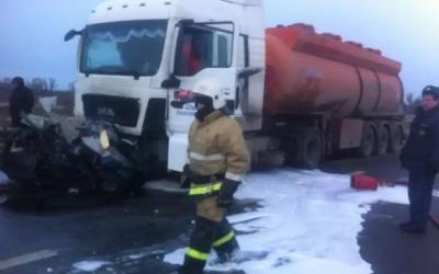 Пять человек погибли в ДТП с бензовозом в Нижегородской области