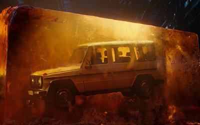 Компания Mercedes-Benz выпустила видеотизер нового Gelandewagen