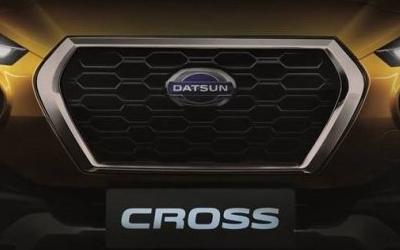 Nissan показала тизер нового кроссовера Datsun Cross