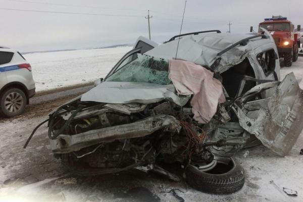 В ДТП с автобусом в Альметьевском районе погиб человек