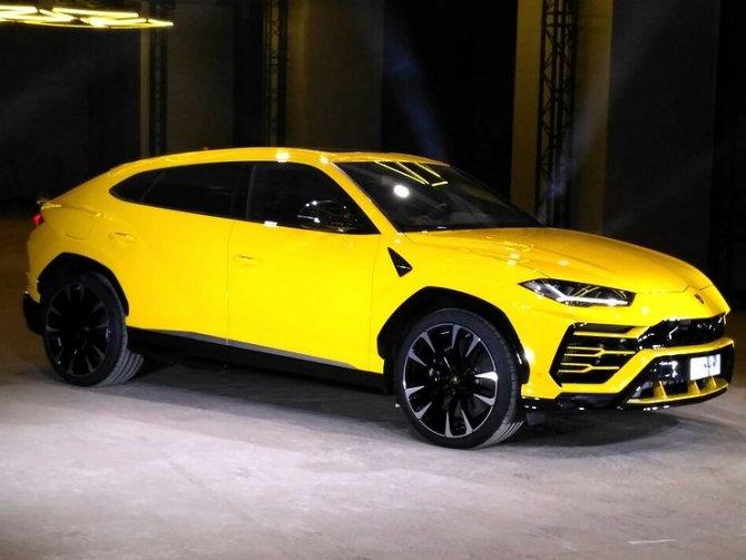 В Москве состоялась официальная презентация Lamborghini Urus 2