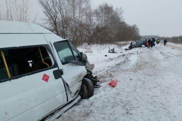 Женщина погибла в ДТП на трассе «Бугуруслан – Самара» (1)