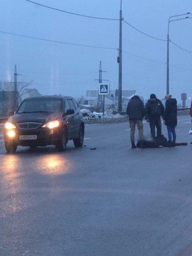 В Воронеже насмерть сбили женщину