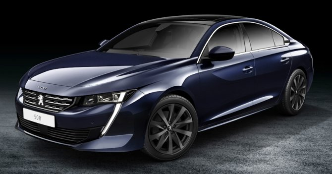 Новый Peugeot 508 - 2018 1