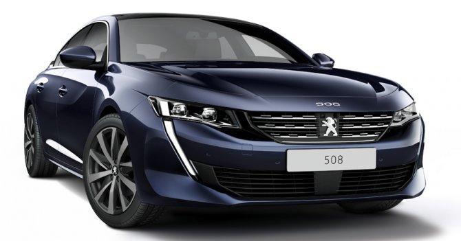 Новый Peugeot 508 - 2018 2