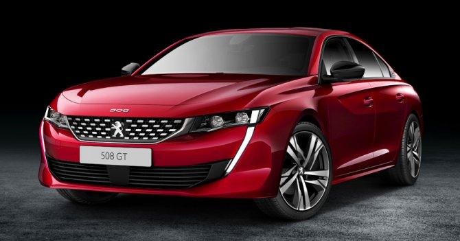 Новый Peugeot 508 - 2018 5