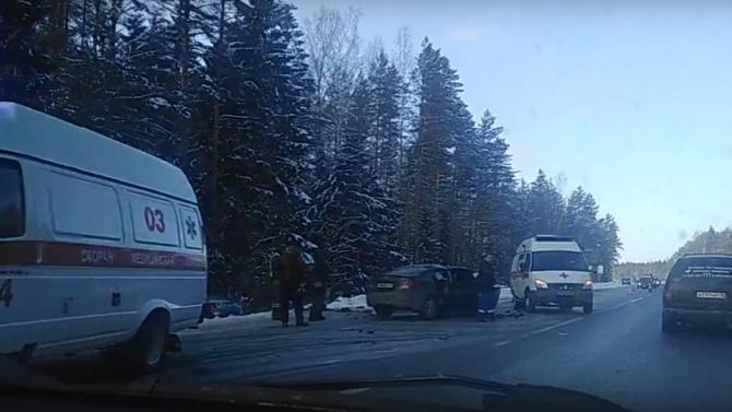 Женщина погибла в ДТП на «Скандинавии»