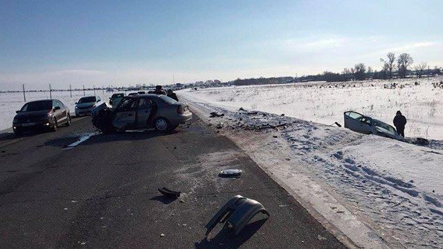 В лобовом ДТП на трассе Дюртюли-Нефтекамск погибла женщина (1)