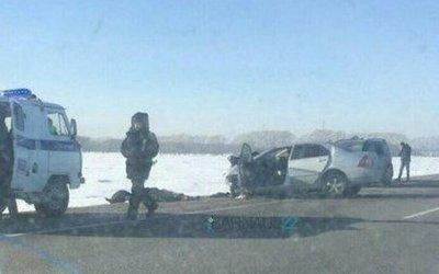 Три человека погибли в ДТП в Алтайском крае