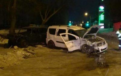 В Уфе в ночном ДТП пострадали пять человек