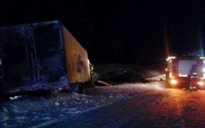Девять человек погибли в ДТП с микроавтобусом под Тихвином