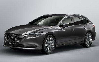 Фото нового универсала Mazda6 Touring показаны перед премьерой