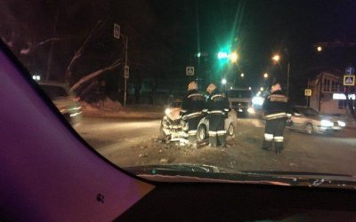 Три человека пострадали в ДТП в центре Томска