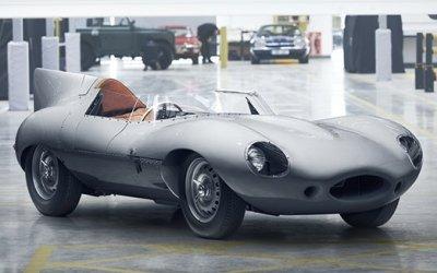 Jaguar выпустит 25 спорткаров D-Type, которые не успел сделать 62 года назад