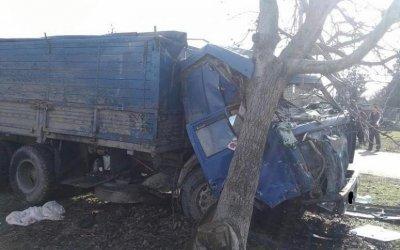 В Курганинском районе в ДТП погиб водитель КамАЗа