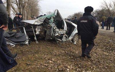 Две девушки погибли в ДТП под Владикавказом