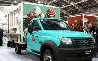 УАЗ выпустил ларьки и холодильники на колёсах
