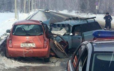 Четыре человека пострадали в ДТП в Усольском районе