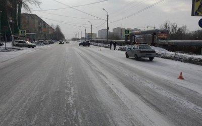 В Миассе из-за снегопада автомобиль насмерть сбил пешехода
