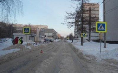 В Ярославле иномарка сбила 10-летнюю девочку на переходе