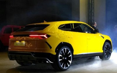 Кроссовер Lamborghini Urus официально представлен в России
