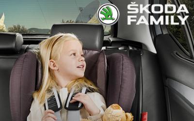 Компания Skoda объявила о начале акции Baby-Mobil