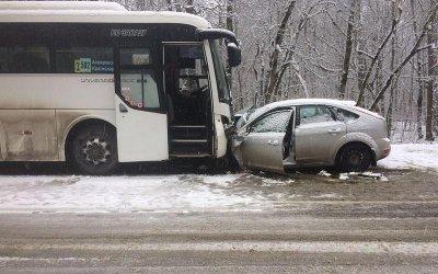 Два человека погибли в ДТП с автобусом под Горячим Ключом