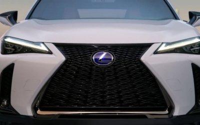 Видео нового кроссовера Lexus UX выложили в Сеть