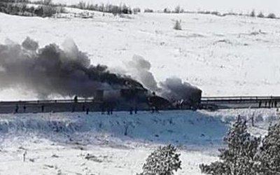 Три человека погибли в ДТП с фурами в Башкирии