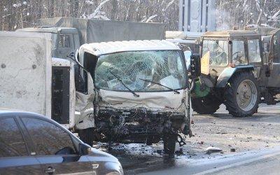 Водитель иномарки погиб в ДТП под Владимиром