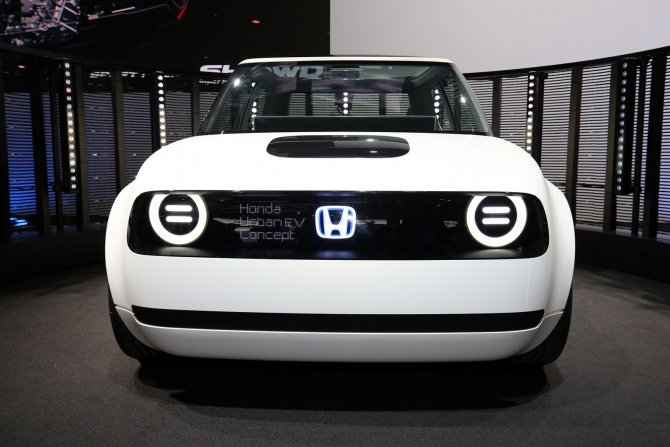 Honda Urban EV в Женеве 5